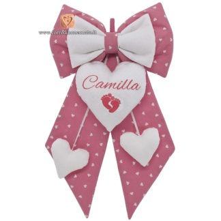 Fiocco nascita Camilla
