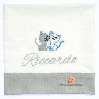 Lenzuolo neonato Riccardo