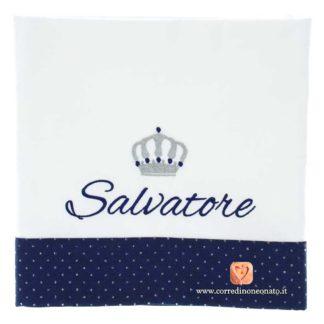 Lenzuolo neonato Salvatore