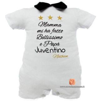 Pagliaccetto neonato Juventus per Nathan
