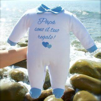 tutina nascita regalo papa