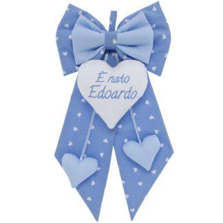 """Fiocco nascita """"È nato Edoardo"""""""