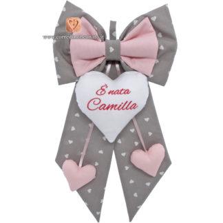 """Fiocco nascita """"È nata Camilla"""""""