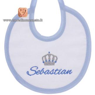 Bavetta neonato Sebastian