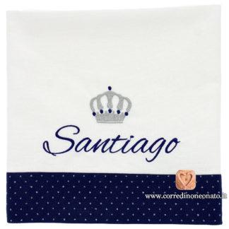Lenzuolo neonato Santiago