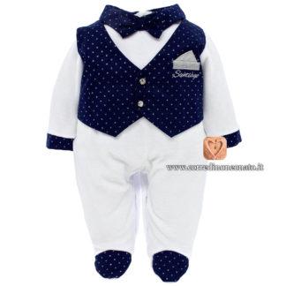 Tutina gilet neonato Santiago
