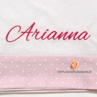 lenzuolino neonata Arianna