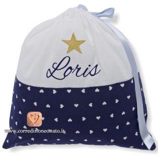 Sacco nascita Loris