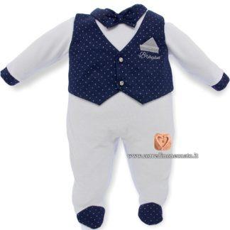 tutina gilet neonato Brayan