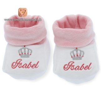 Babbucce ricamate Isabel
