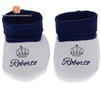 Babbucce ricamate Roberto