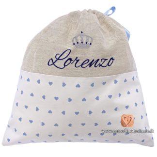 Sacco nascita Lorenzo