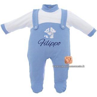 Tutina neonato Filippo orsetti