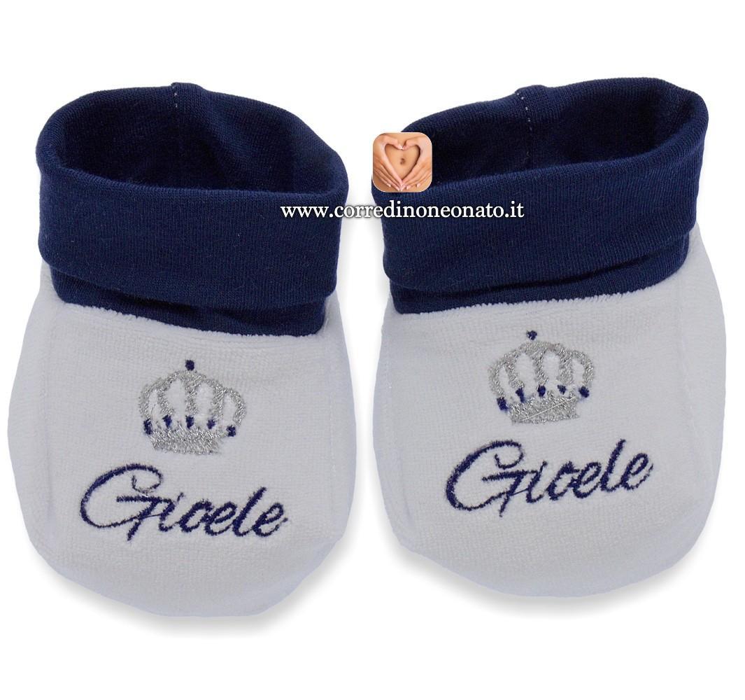 info for f5fd9 2d85c Babbucce neonato Gioele
