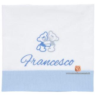 Francesco lenzuolo culla