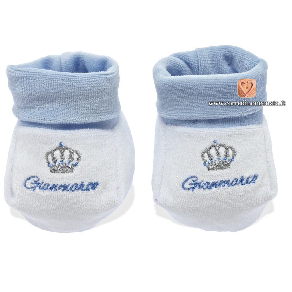 new arrivals 3eaa6 3a67f Babbucce neonato Gianmarco