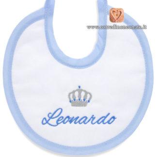 Bavetta neonato Leonardo