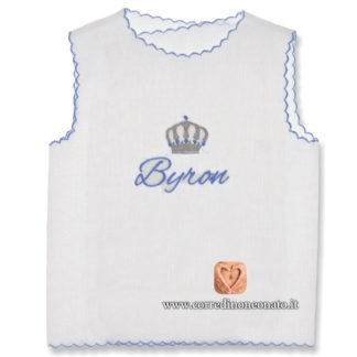 Camicina neonato Byron