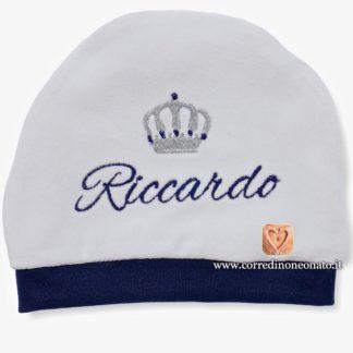 Cappellino neonato Riccardo