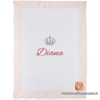 Copertina neonata Diana corona