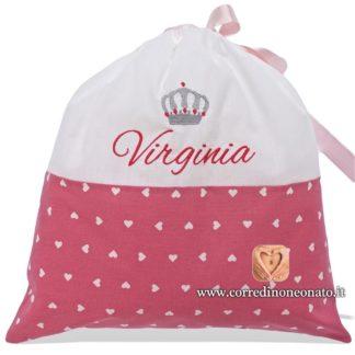 Sacco nascita Virginia rosa