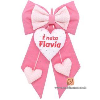 Fiocco nascita Flavia