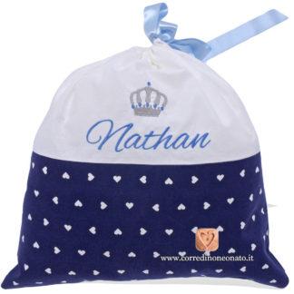 Sacco nascita Nathan