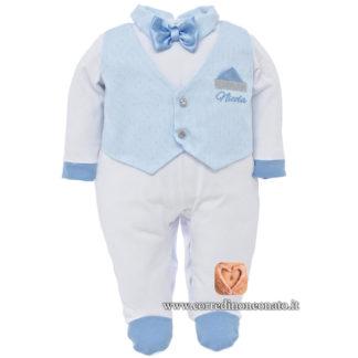 Tutina gilet neonato Nicola