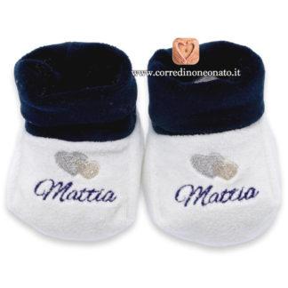 Babbucce neonato Mattia