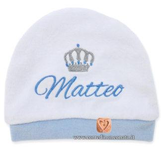 Cappellino neonato Matteo