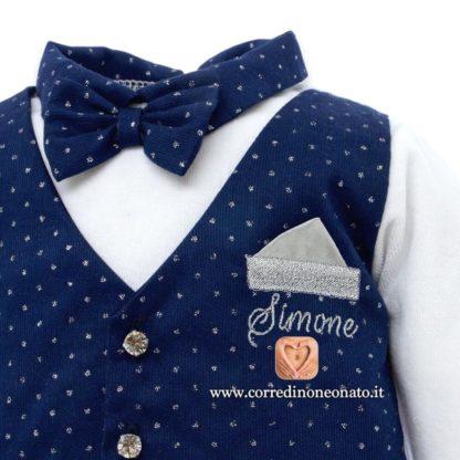 Ricamo neonato Simone