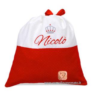 Sacco nascita Nicolò