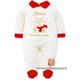 Tutina natalizia neonato Roberto