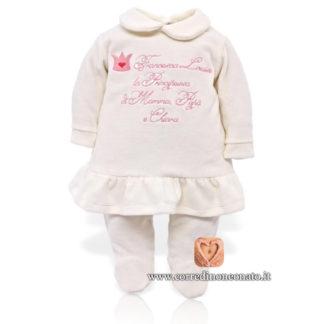 Coprifasce neonata Francesca Louise
