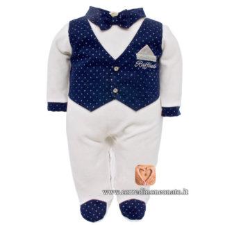 Tutina gilet neonato Raffaele