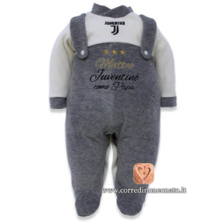 Tutina neonato Juventus Matteo