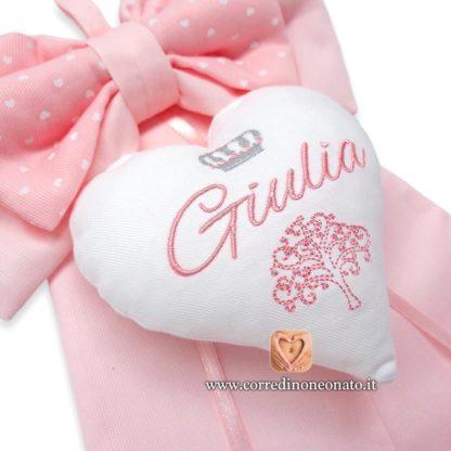 Ricamo nome Giulia