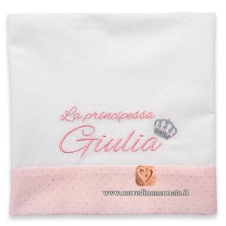 Lenzuolo neonata Giulia