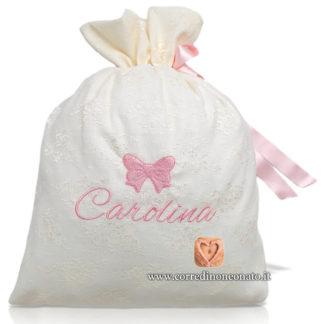Sacco nascita pizzo Carolina