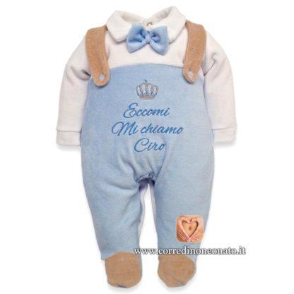 Tutina salopette neonato Ciro