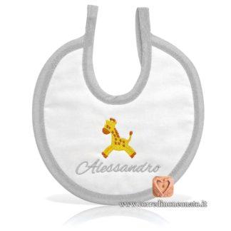 Bavetta neonato Alessandro giraffa