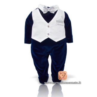 Tutina gilet neonato Anthony