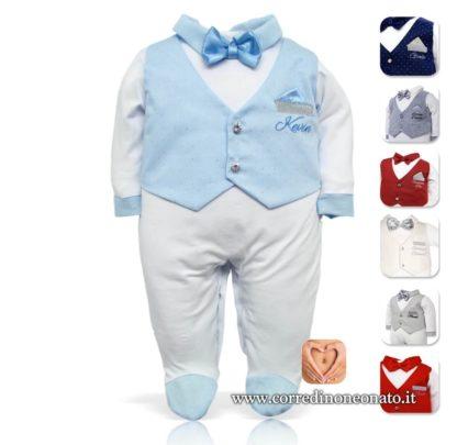 tutina elegante neonato
