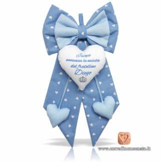 fiocco nascita azzurro