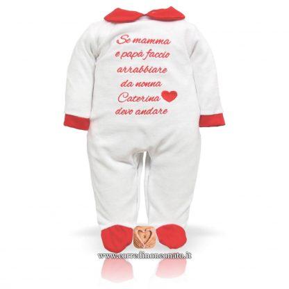 tutina neonata personalizzata