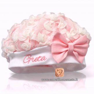 Basco neonata rosa