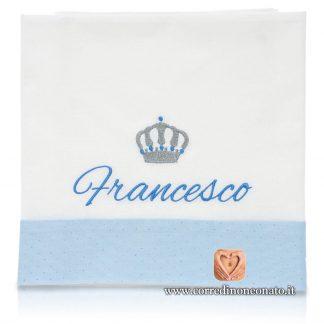 lenzuolino corona francesco